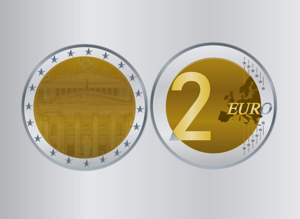 2 euro munt